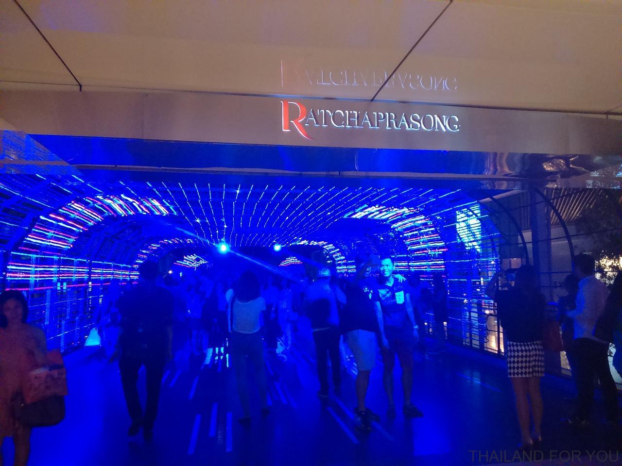 タイ・バンコクの年末年始のイルミネーション_6