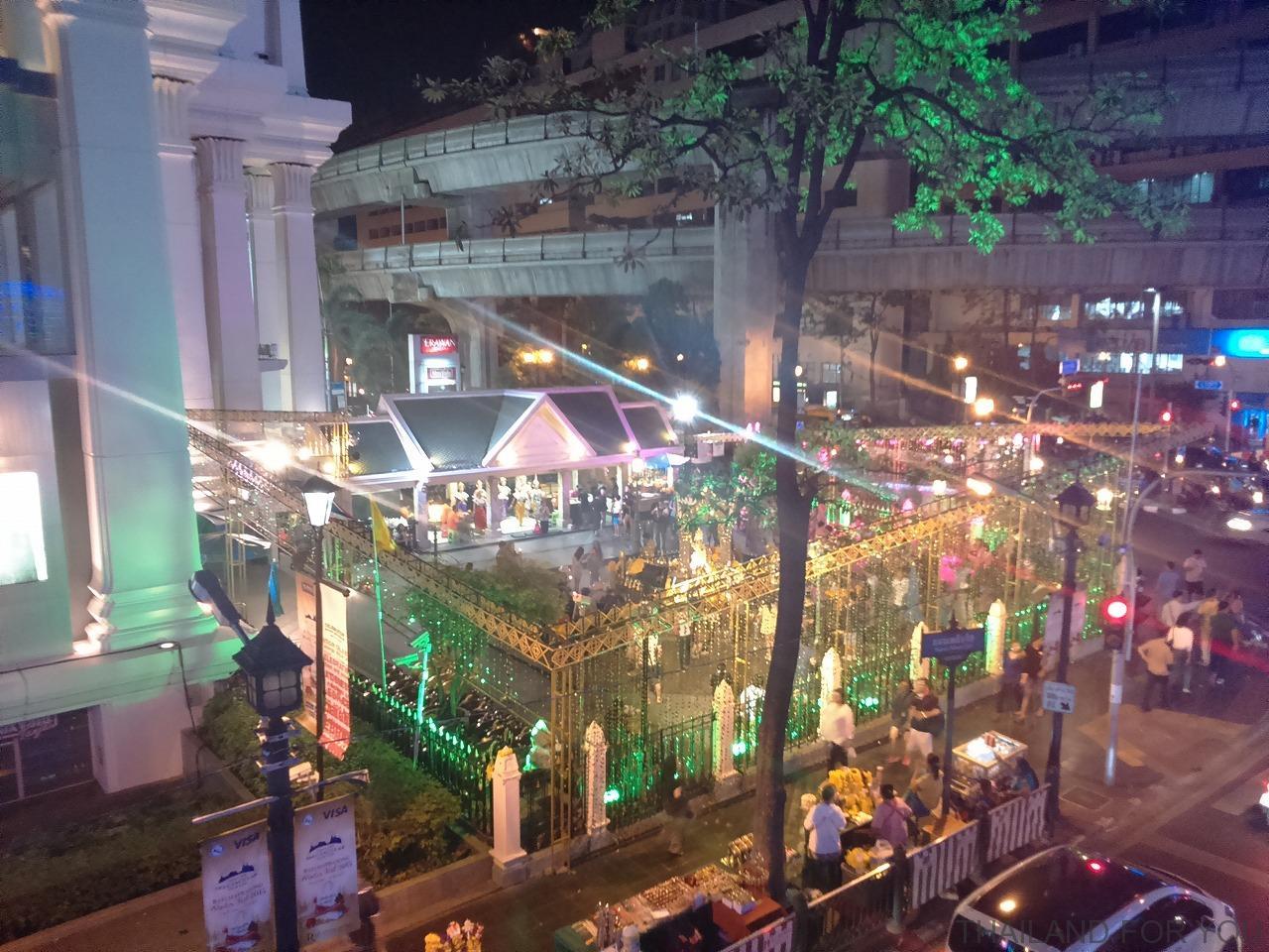 タイ・バンコクの年末年始のイルミネーション_8