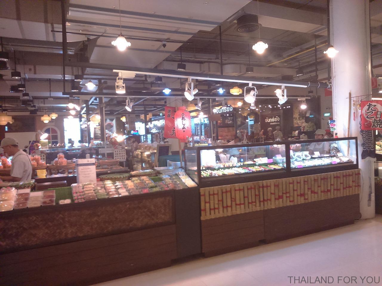 チェンライ セントラルプラザ(Central Praza) 店舗 日本食 写真