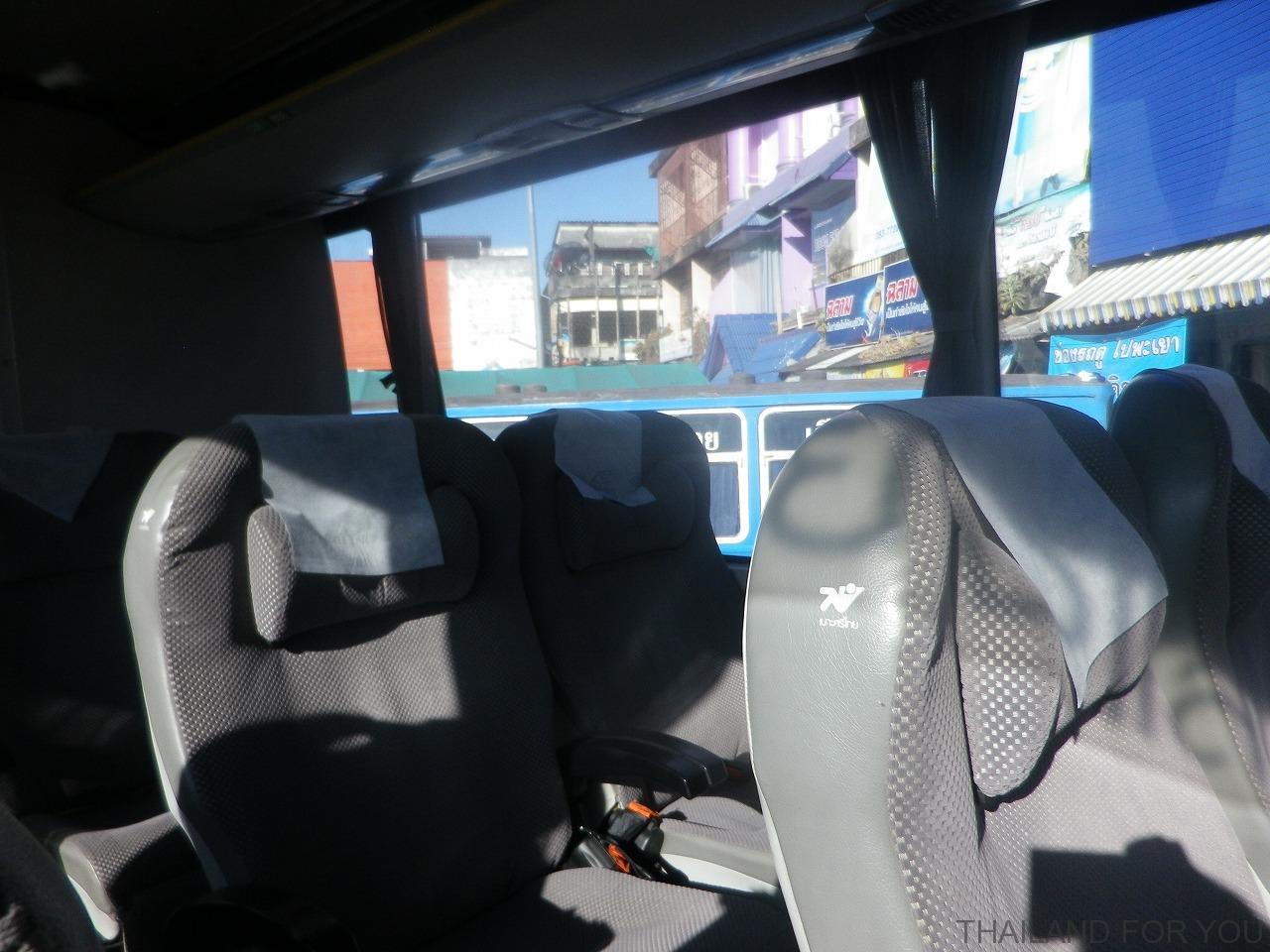 チェンライ グリーンバス Greenbus VIP 車内 写真