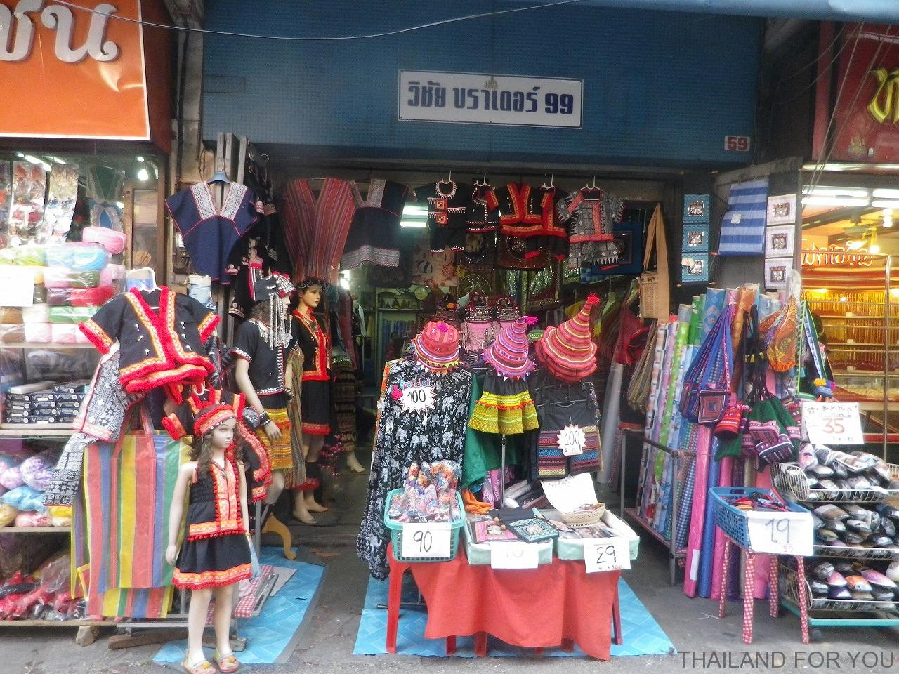 チェンマイ ワローロット市場 写真