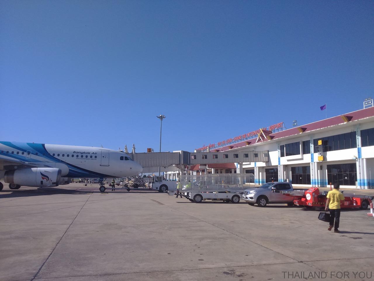 チェンライ空港 画像写真