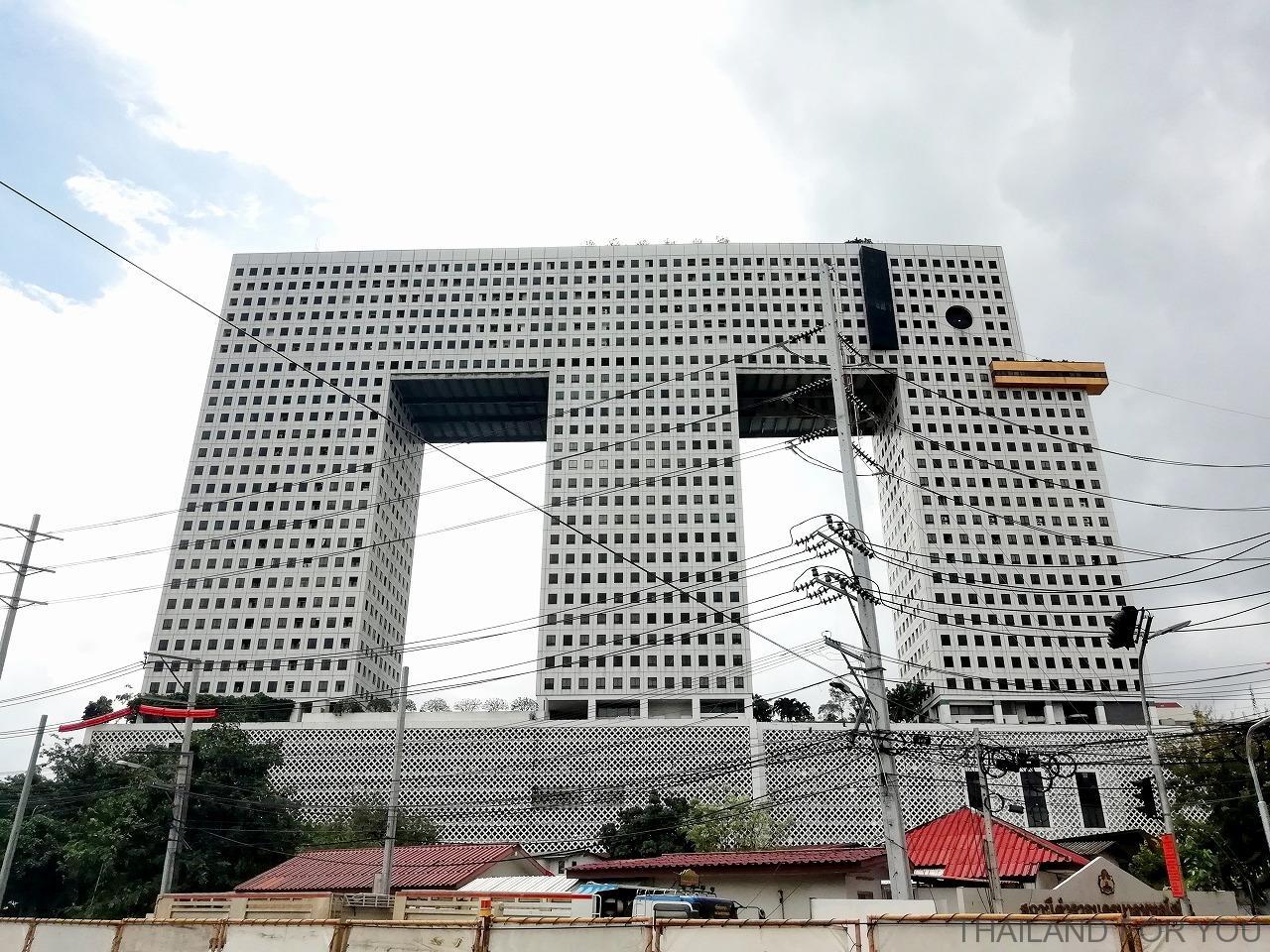 象ビル エレファントタワー タイ バンコク 写真