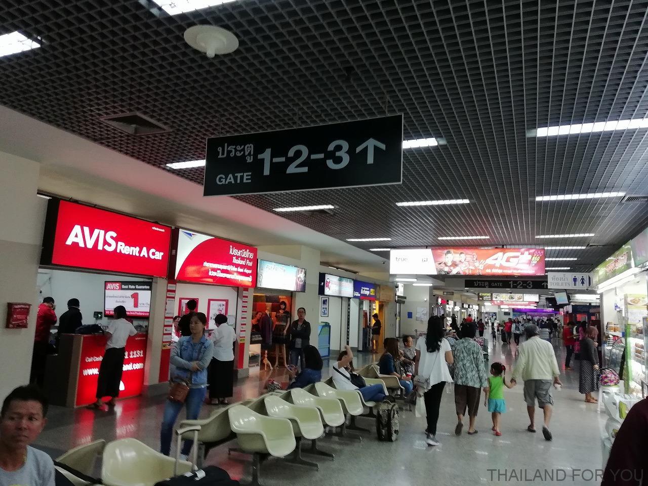 ウドンタニ空港 写真
