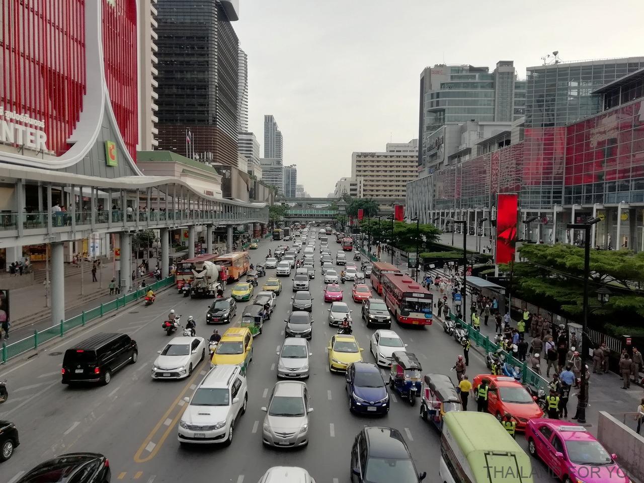 タイ バンコク 渋滞