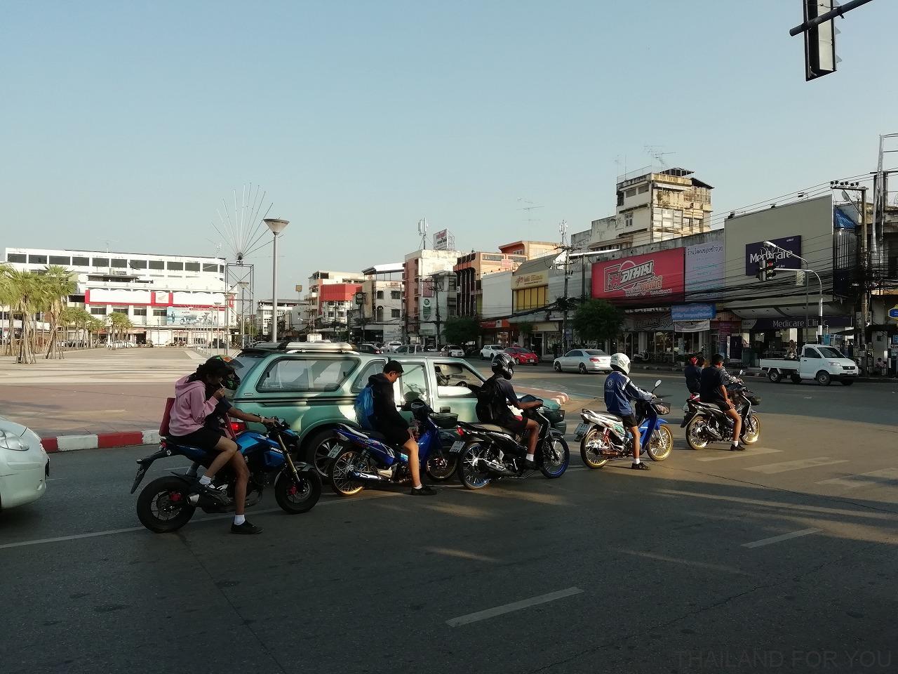 タイ ウドンタニ 街並み