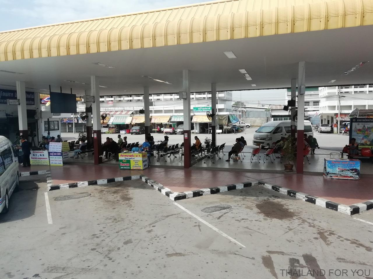 タイ バーンパイ Ban pai バスターミナル