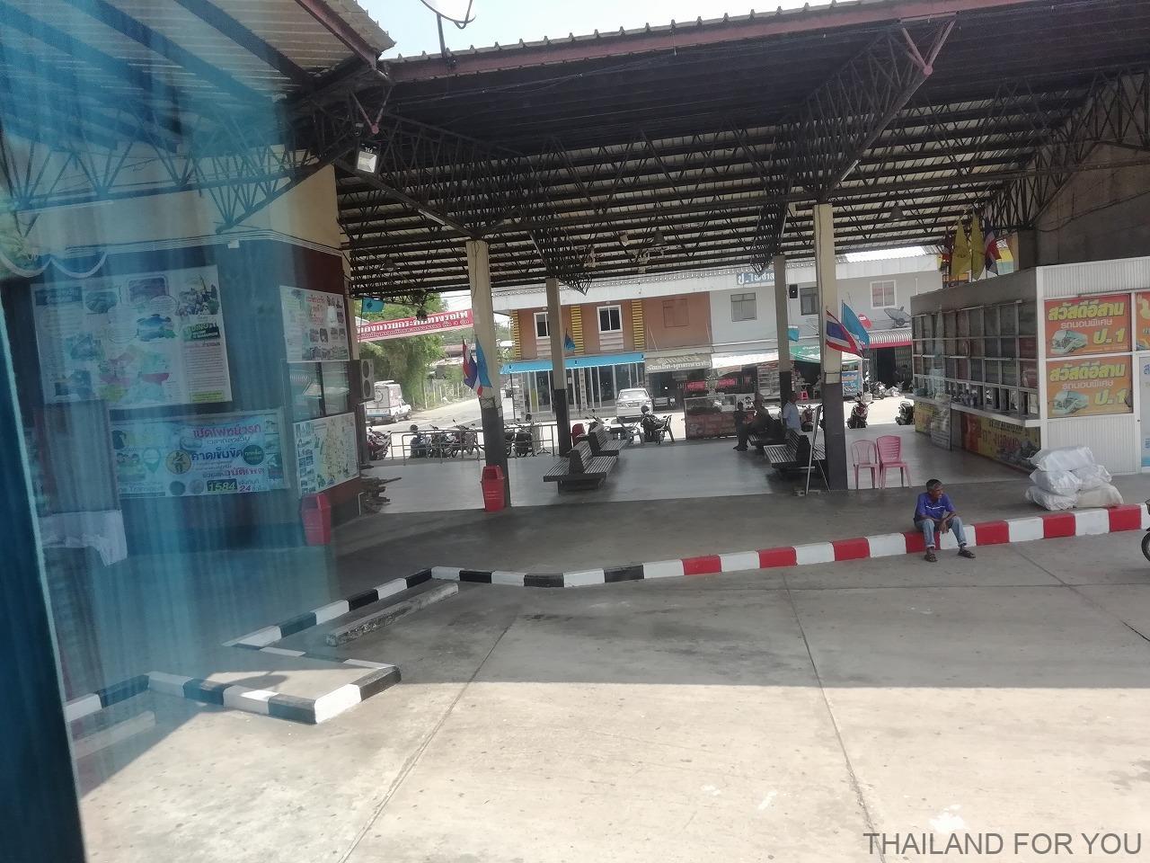 タイ フォン Phon バスターミナル