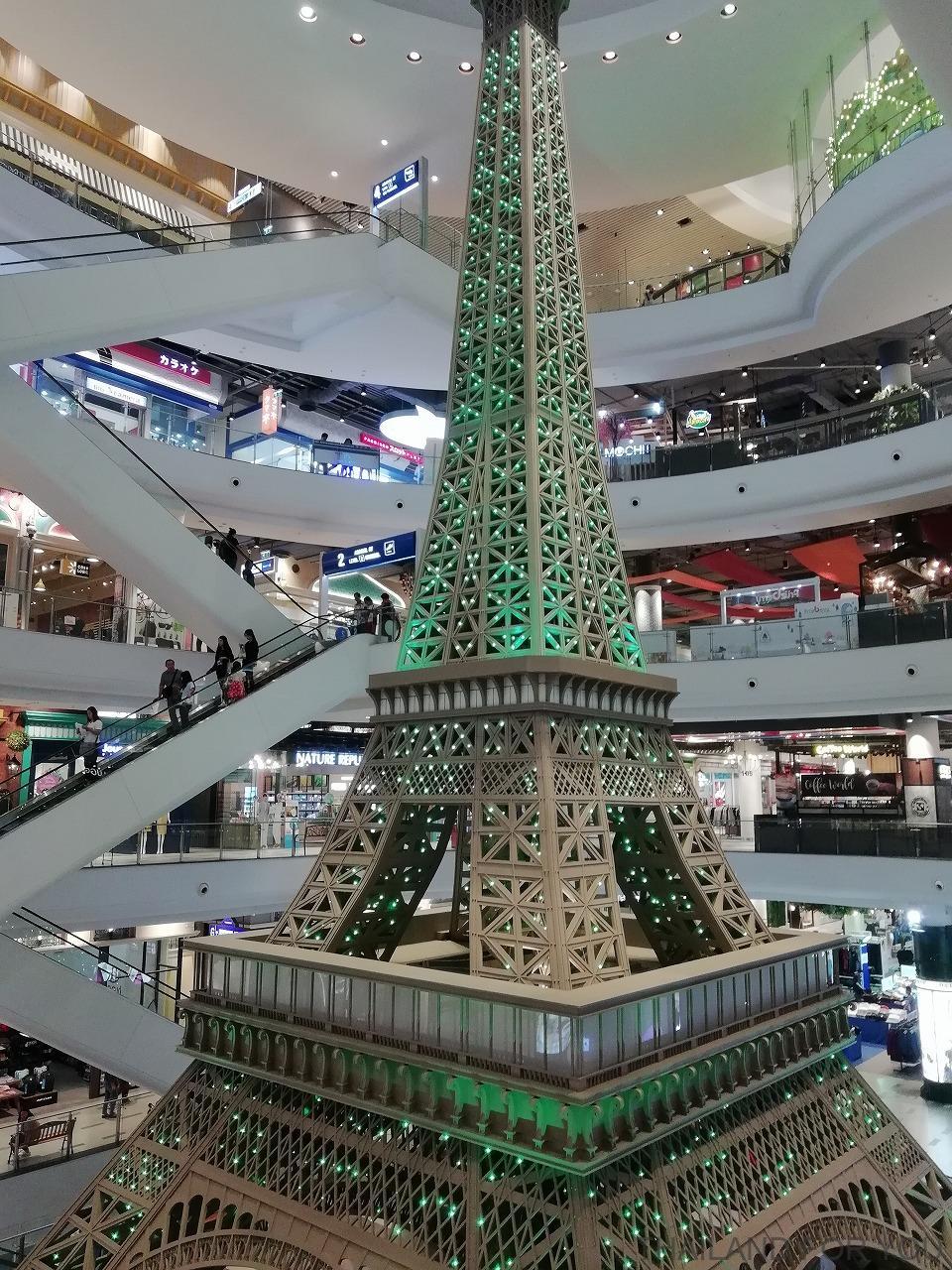 ターミナル21 コラート エッフェル塔 パリ 写真 画像