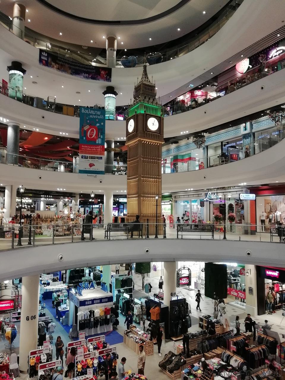 ターミナル21 コラート ビッグベン ロンドン 写真 画像