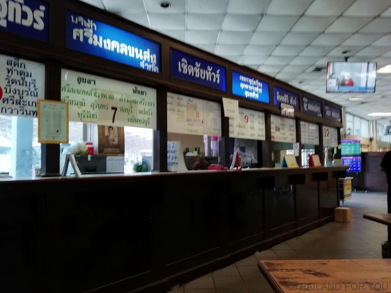 コラート 新バスターミナル 写真