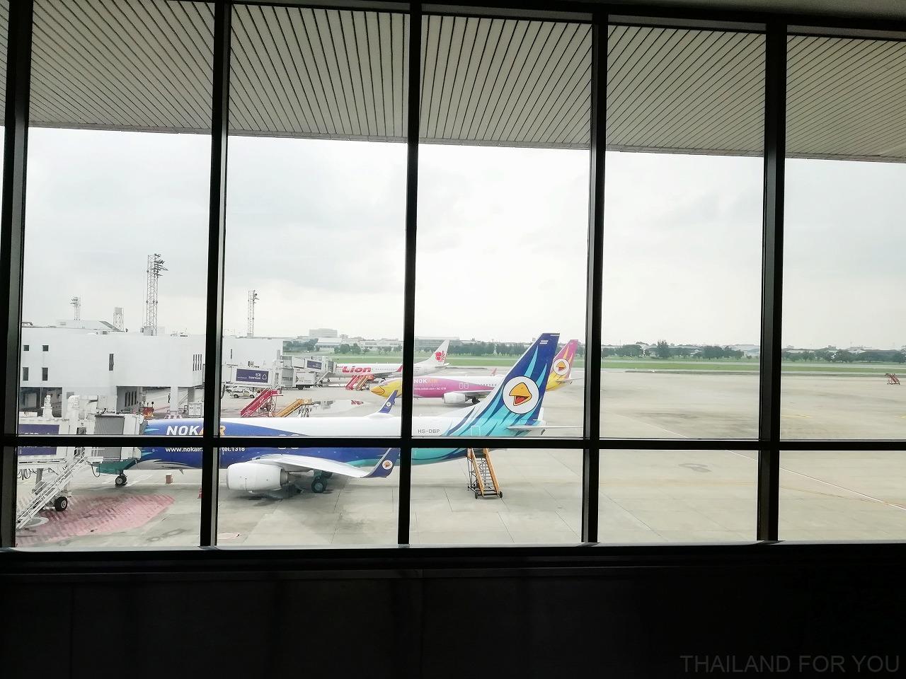 ドンムアン空港 国内線 乗り継ぎ