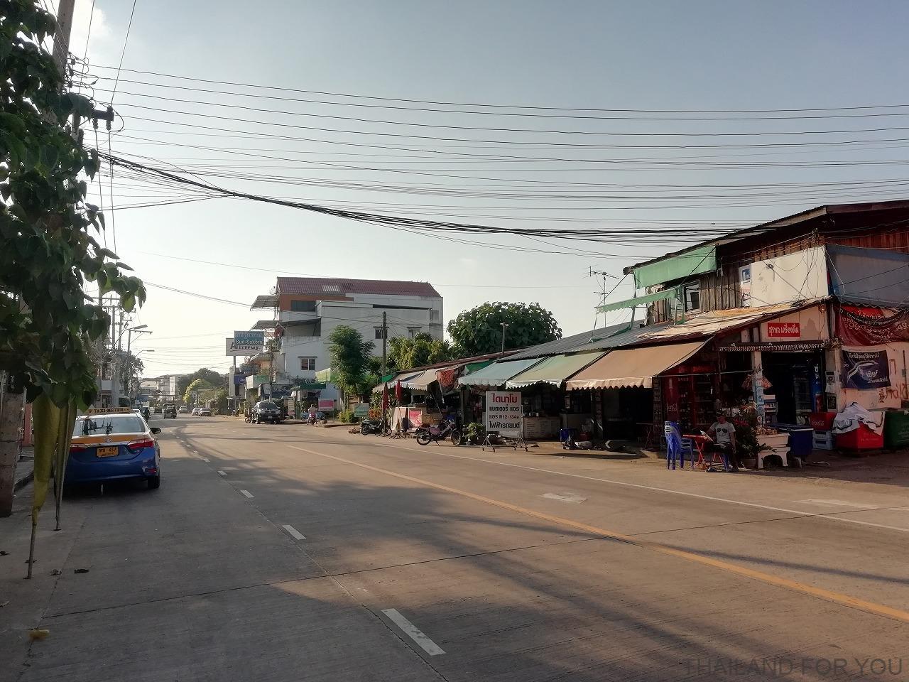 ウボンラチャタニ 街並み 写真