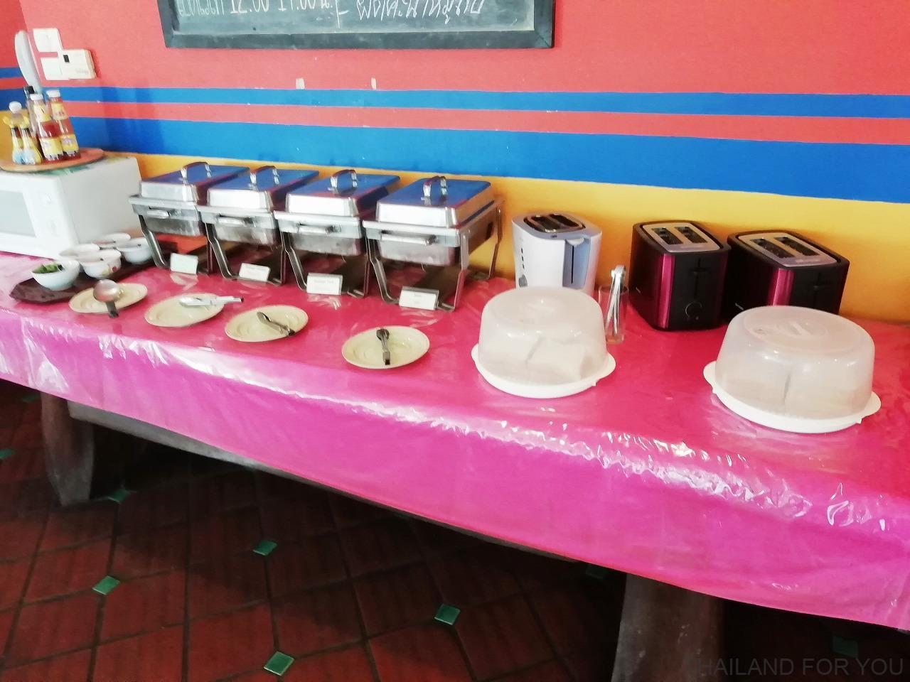 ベストコンフォートバンコクホテル 朝食