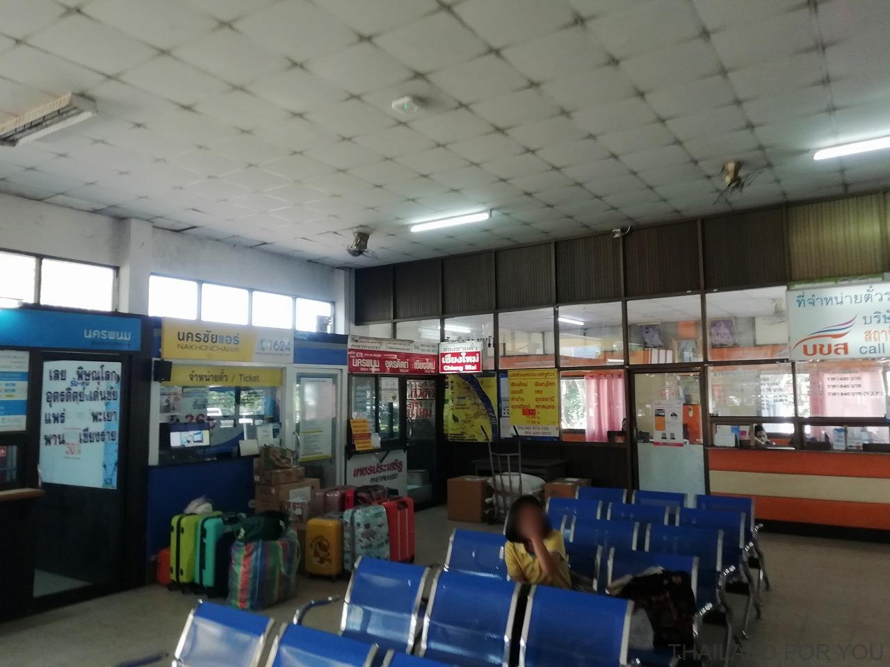 ナコンパノム バスターミナル