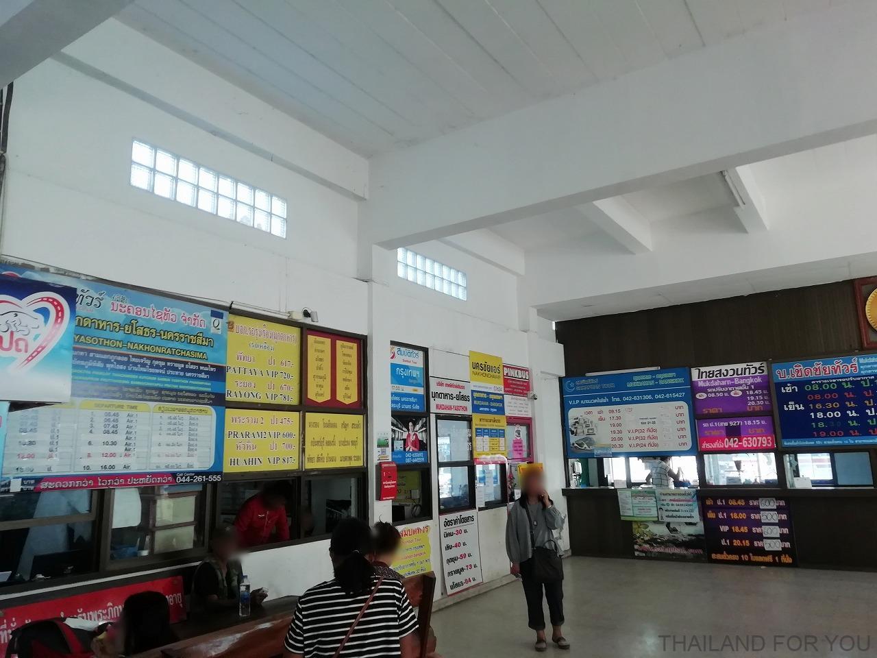ムクダハーン バスターミナル