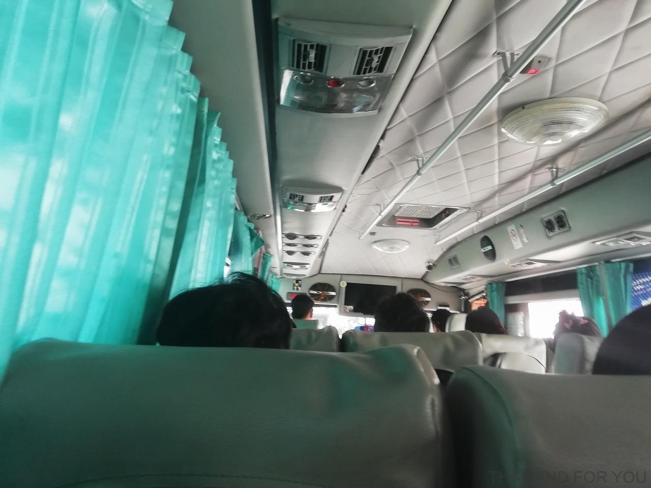 ムクダハーン バスターミナル バス