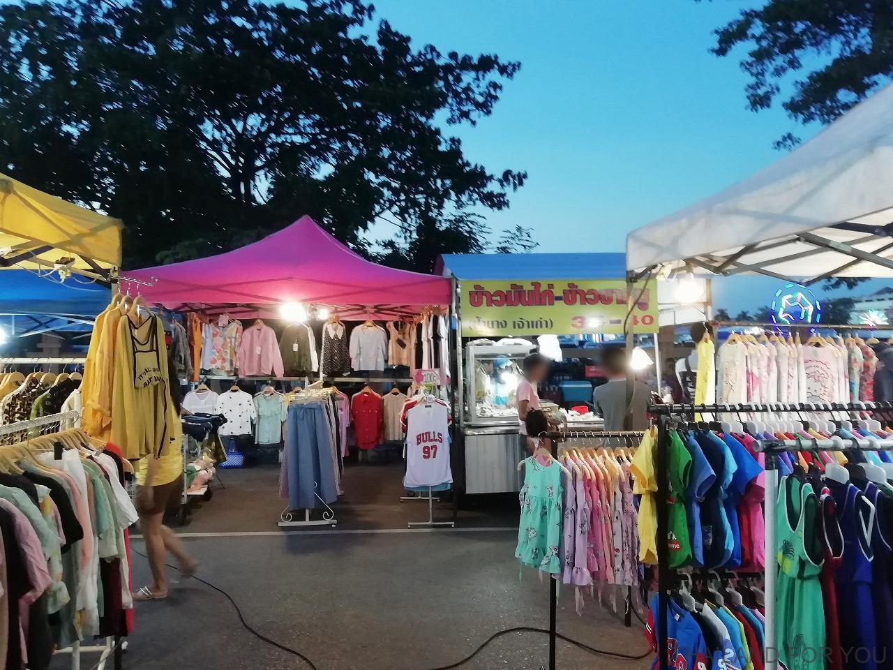 ムクダハーン ナイトマーケット タイ