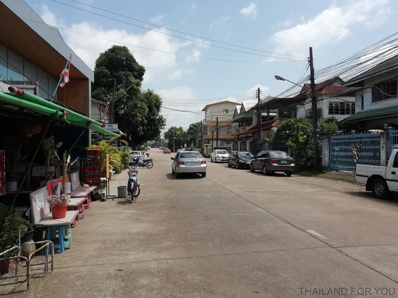 ナコンパノム タイ 街並み