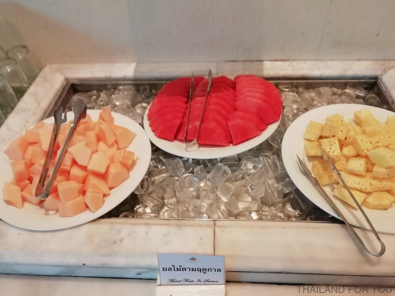 プロイパレスホテル 朝食 ムクダハーン