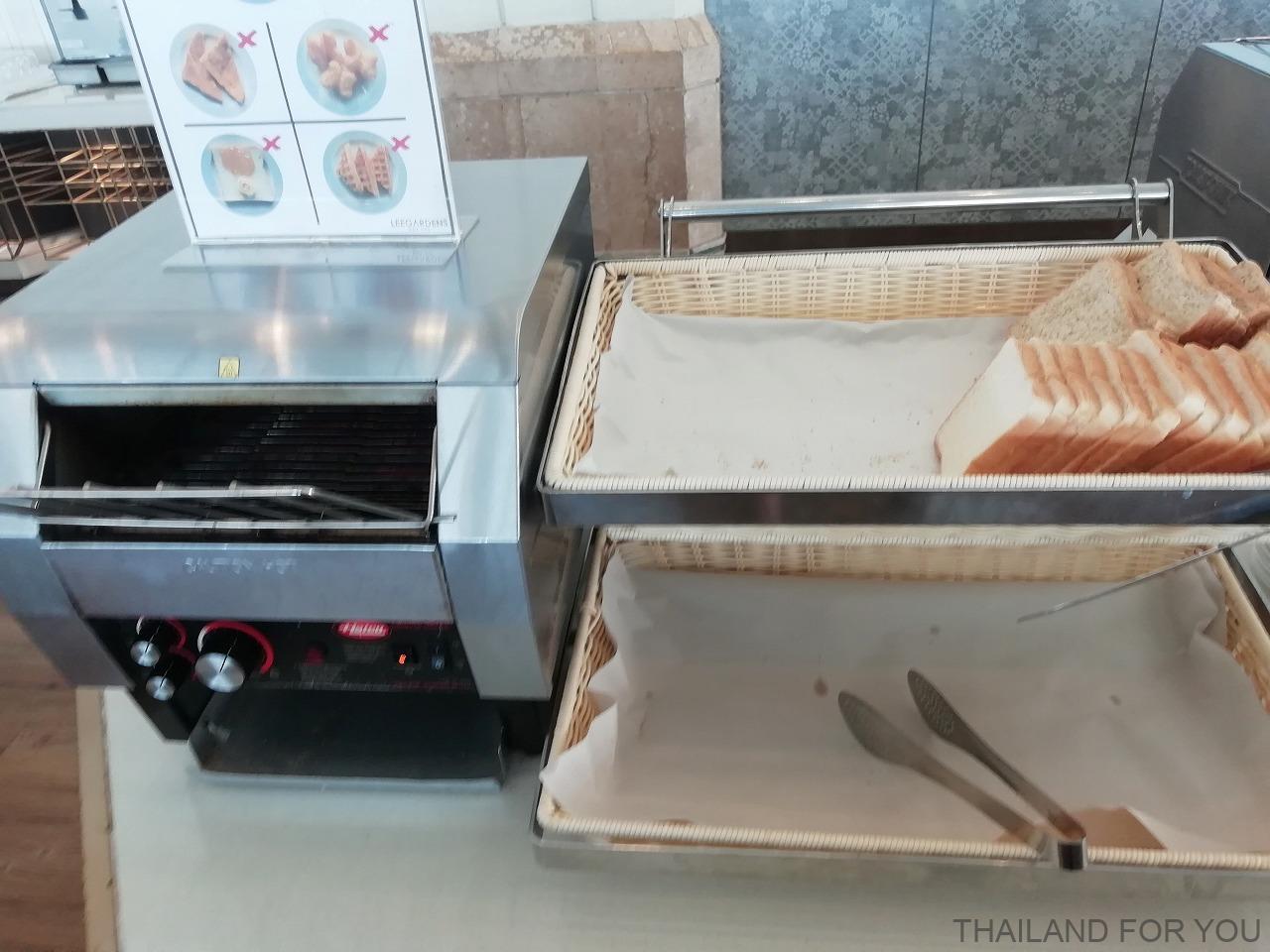 リーガーデンズプラザホテル 朝食 ハジャイ